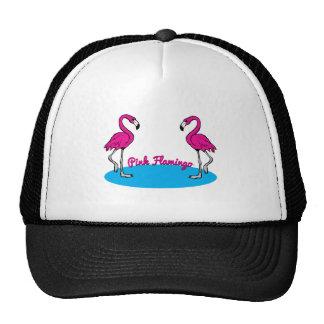 Pink Flamingo Mesh Hat