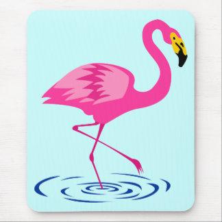 Pink Flamingo Mouse Mat