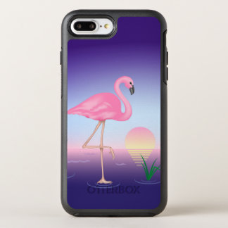 Pink Flamingo OtterBox Symmetry iPhone 8 Plus/7 Plus Case