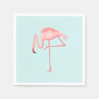 Pink Flamingo Paper Napkin
