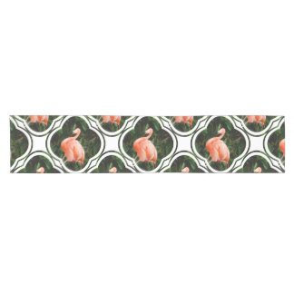 Pink Flamingo Short Table Runner
