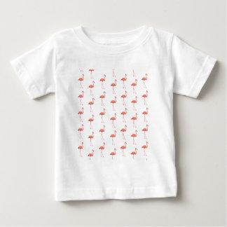 Pink Flamingo Simple Pattern T Shirts