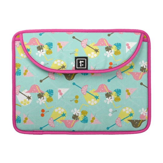 Pink Flamingo Sleeve For MacBooks