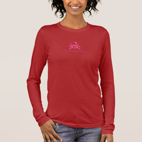 Pink Flamingo Society Long-Sleeve T-Shirt