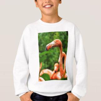 Pink flamingo sweatshirt