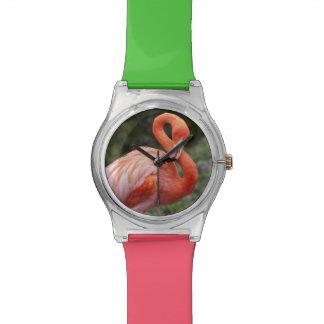 Pink Flamingo Wristwatch