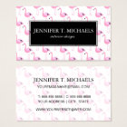 Pink Flamingos 2 Business Card