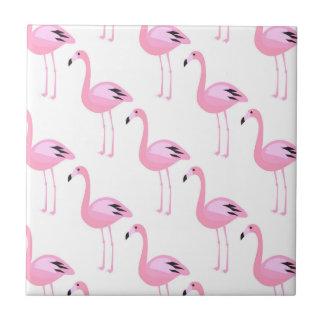 Pink Flamingos 2 Tile