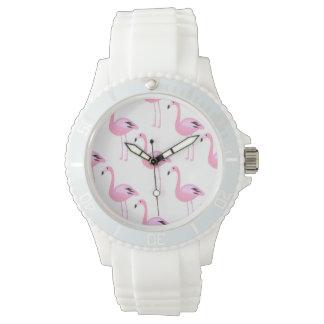 Pink Flamingos 2 Wrist Watch