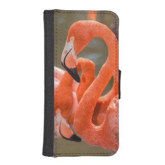 Pink Flamingos at Gatorland iPhone SE/5/5s Wallet Case