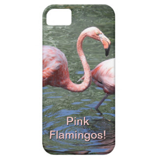 Pink Flamingos Barely There iPhone 5 Case