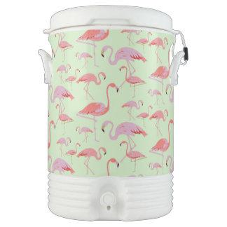 Pink Flamingos Beverage Cooler