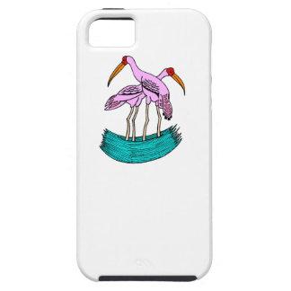 Pink Flamingos iPhone 5 Cases
