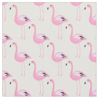 Pink Flamingos Fabric