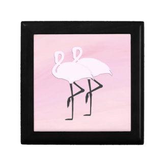 Pink Flamingos Gift Box
