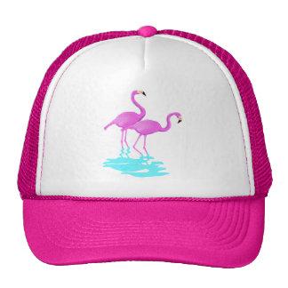 Pink Flamingos Hat