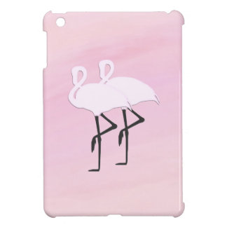 Pink Flamingos iPad Mini Cases
