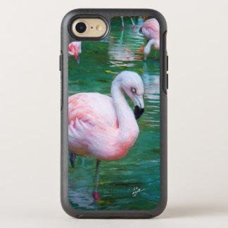 Pink Flamingos iPhone Otterbox Cases