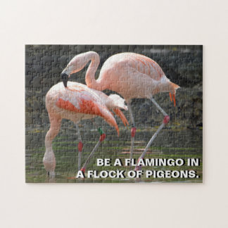Pink Flamingos Jigsaw Puzzle