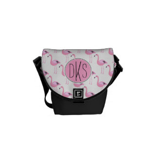 Pink Flamingos | Monogram Commuter Bags