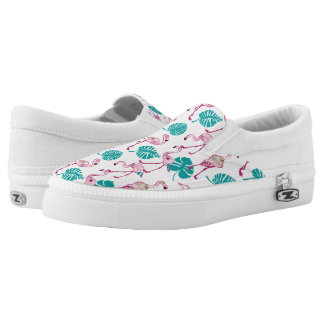 Pink Flamingos Slip-On Shoes