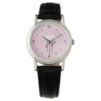 Pink Flamingos Watch