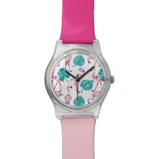 Pink Flamingos Watches