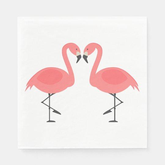 Pink Flamingos Wedding, Bridal Shower Luau Summer Disposable