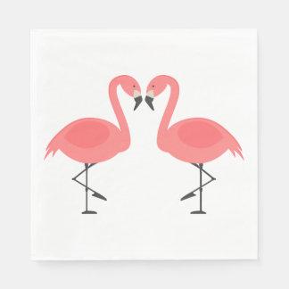 Pink Flamingos  Wedding, Bridal Shower Luau Summer Disposable Serviette