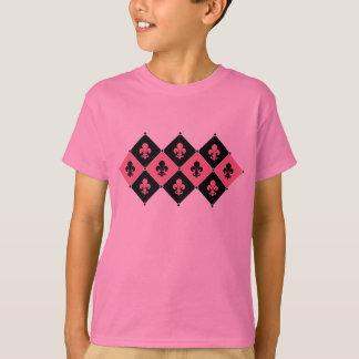 Pink Fleur de Lis T-shirts
