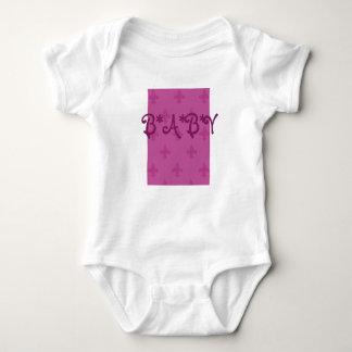 Pink Fleur De Lis T-shirt