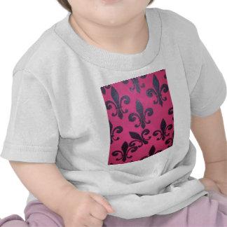 Pink Fleur De Lis Shirts