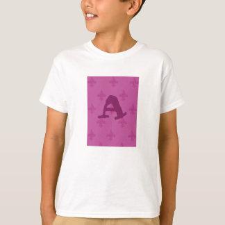 Pink Fleur De Lis Tshirts