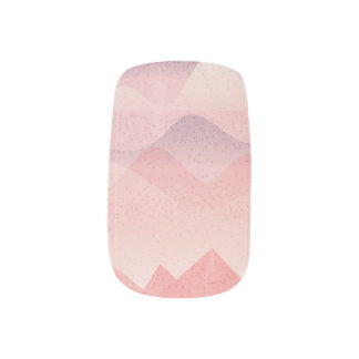 Pink Flight Minx Nail Art