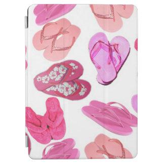 pink flip flops bg iPad air cover