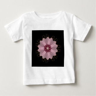 Pink Floral Abstract Baby T-Shirt