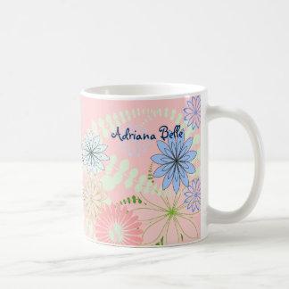 Pink Floral baby mug