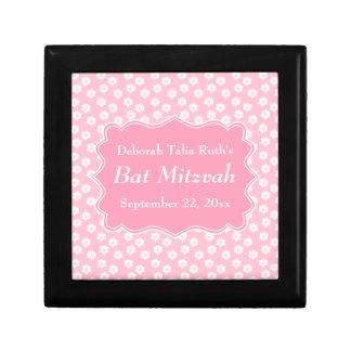 Pink Floral Bat Mitzvah Gift Box