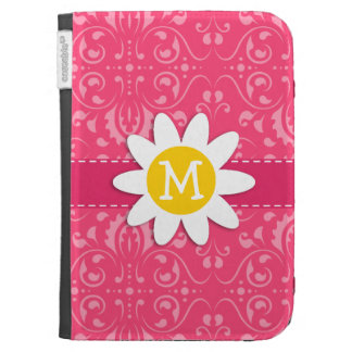 Pink Floral Daisy Kindle 3G Covers