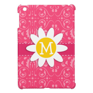 Pink Floral Daisy Cover For The iPad Mini