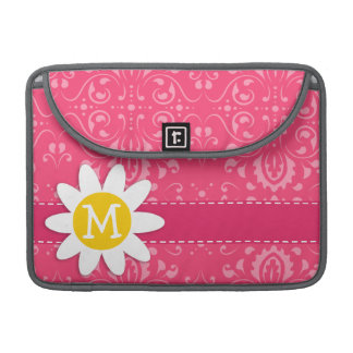 Pink Floral Daisy MacBook Pro Sleeve