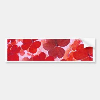 Pink Floral Design Art Glow Gradient Digital Art L Bumper Sticker