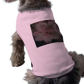 Pink Floral Dog Tee