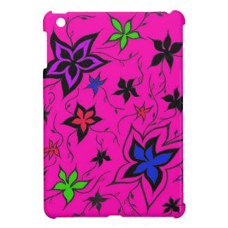 Pink floral fantasy iPad mini case
