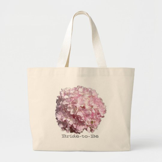 Pink Floral Hydrangea Wedding Bag