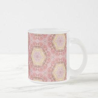 Pink Floral Kaliedscope Mug 2