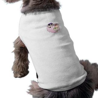 Pink Floral Medallion Dog Shirt