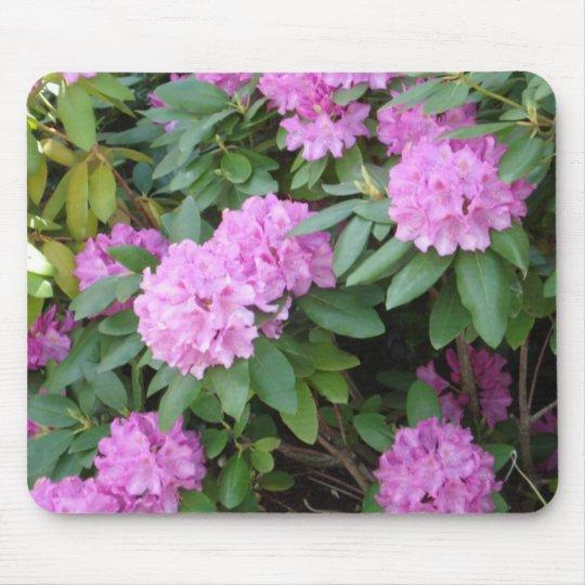 Pink Floral Mousepad
