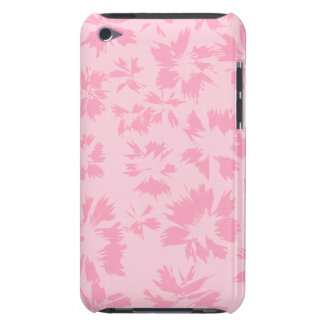 Pink floral pattern. iPod touch case