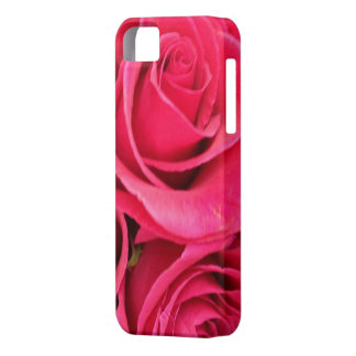 PINK FLORAL ROSE IPHONE 5 CASE